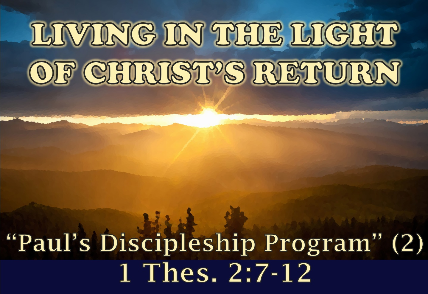 Paul's Discipleship Program (2)